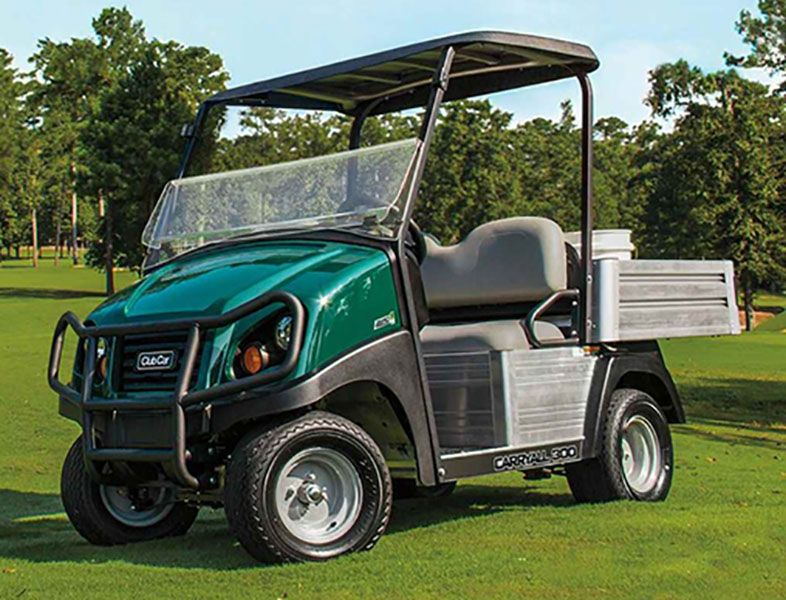 New 2019 Club Car Carryall 300 Turf Electric Utility