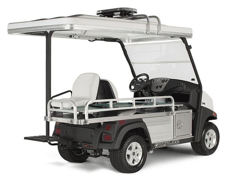 New 2020 Club Car Carryall 300 Ambulance Electric Golf