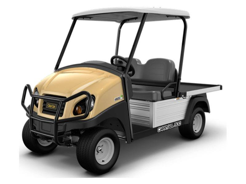 2021 Club Car Carryall 500 Facilities-Engineering with Tool Box System Electric in Canton, Georgia - Photo 1