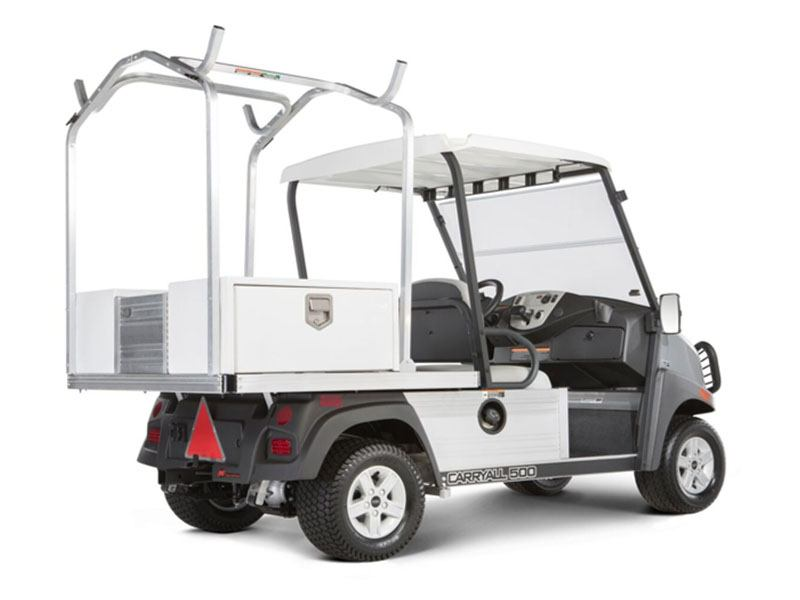 2021 Club Car Carryall 500 Facilities-Engineering with Tool Box System Electric in Pocono Lake, Pennsylvania - Photo 4