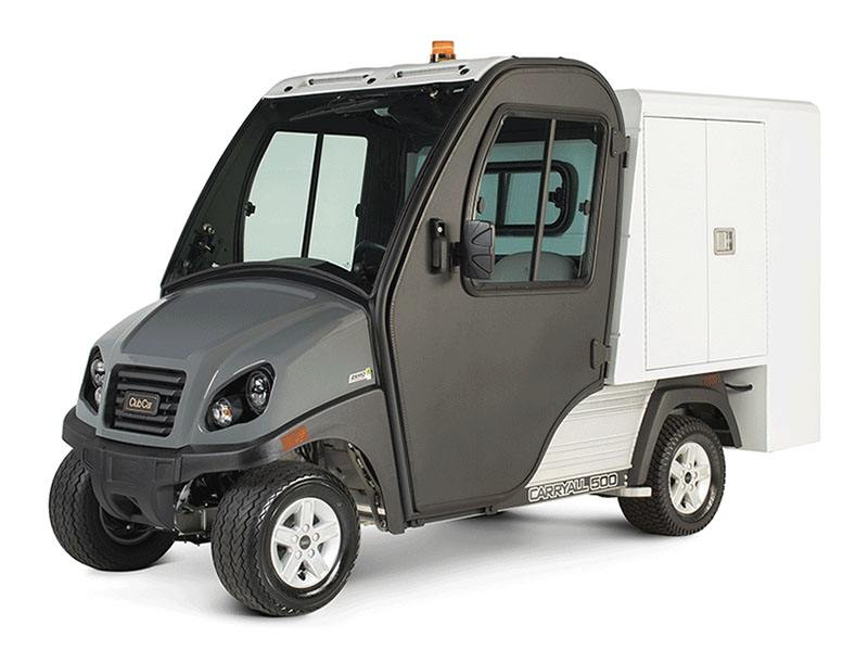 2021 Club Car Carryall 500 Housekeeping Electric in Commerce, Michigan - Photo 2