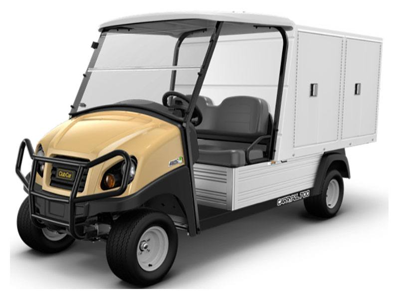 2021 Club Car Carryall 700 Facilities-Engineering with Van Box System Electric in Pocono Lake, Pennsylvania - Photo 1