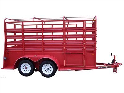 2013 Carry-On Trailers 6X16LIVESTOCK - OT1BRK in Jesup, Georgia