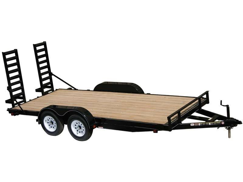 2015 Carry-On Trailers 7X16APFTFR2BRK