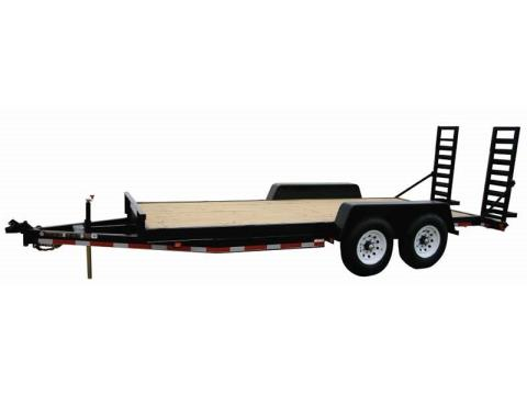 2015 Carry-On Trailers 7X20HDEQDTFR14K -14,000 lbs. GVWR Heavy-Duty in Jesup, Georgia