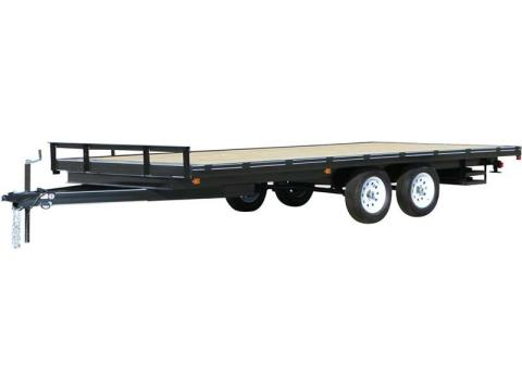 2015 Carry-On Trailers 8.5X18DO10K - 7,000 - 10,000 lbs. GVWR All Purpose Flat Deck in Jesup, Georgia