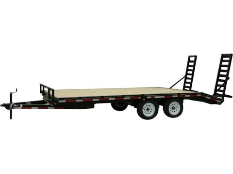2015 Carry-On Trailers 8.5X20DODT7K - 7,000 - 14,000 lbs. GVWR All Purpose Dove Tail in Jesup, Georgia
