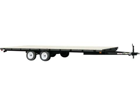 2015 Carry-On Trailers 8X16DO-LOB - 2,990 - 6,000 lbs. GVWR Light Duty Flat Deck in Jesup, Georgia