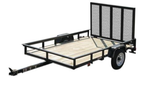 2015 Carry-On Trailers 4X6GW2K - 2,000 lbs. GVWR Wood Floor in Jesup, Georgia