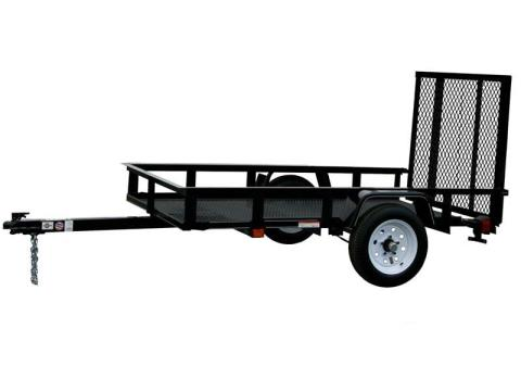 2015 Carry-On Trailers 4X6G - 2,000 lbs. GVWR Mesh Floor in Jesup, Georgia