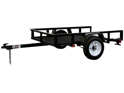 2015 Carry-On Trailers 4X6T - 2,000 lbs. GVWR Mesh Floor in Jesup, Georgia