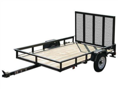 2015 Carry-On Trailers 4X8GW2K - 2,000 lbs. GVWR Wood Floor in Jesup, Georgia