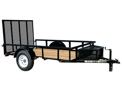 2015 Carry-On Trailers 5.5x10GWPT - 2,990 lbs. GVWR Wood Floor Trailer in Jesup, Georgia