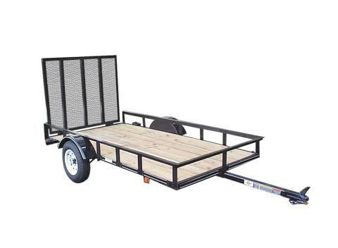 2015 Carry-On Trailers 5X10GW2K  - 2,000 lbs. GVWR Wood Floor in Jesup, Georgia
