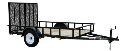 2015 Carry-On Trailers 5X10LGW2K - 2,000 lbs. GVWR Wood Floor in Jesup, Georgia