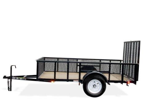 2015 Carry-On Trailers 5X8GWHS - 2,990 lbs. GVWR High-Side Mesh in Jesup, Georgia