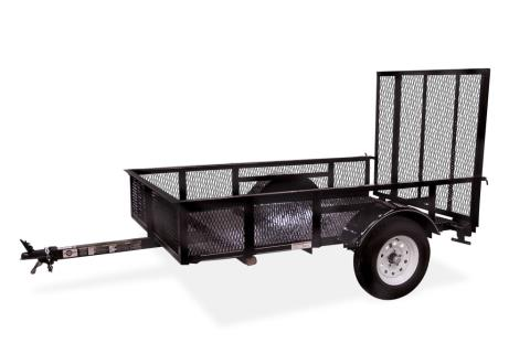 2015 Carry-On Trailers 5X8SPHS - 2,000 lbs. GVWR Specialty in Jesup, Georgia