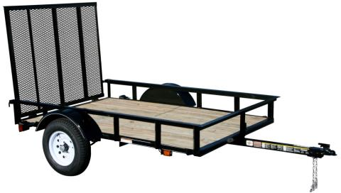 2015 Carry-On Trailers 5X8SPW - 2,000 lbs. GVWR Wood Floor in Jesup, Georgia