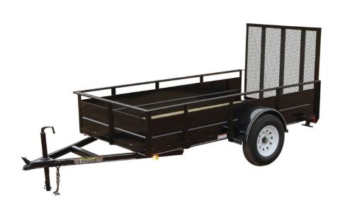 2015 Carry-On Trailers 5X8SSG - 2,990 lbs. GVWR Solid Side in Jesup, Georgia