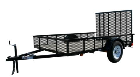 2015 Carry-On Trailers 6X10GWHS16 - 2,990 lbs. GVWR High-Side Mesh in Jesup, Georgia