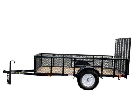 2015 Carry-On Trailers 6X10GWHS - 2,990 lbs. GVWR High-Side Mesh in Jesup, Georgia