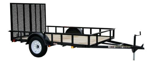 2015 Carry-On Trailers 6X10GW - 2,990 lbs. GVWR Wood Floor in Jesup, Georgia