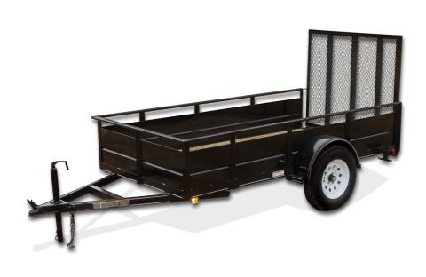 2015 Carry-On Trailers 6X10SSG - 2,990 lbs. GVWR Solid Side in Jesup, Georgia