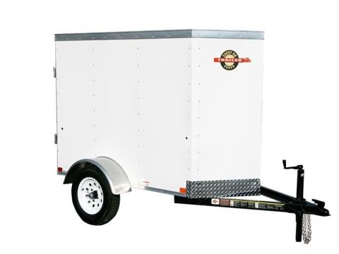 2016 Carry-On Trailers 4X6CGVEC-13 in Kansas City, Kansas