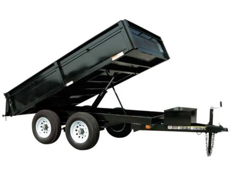 2016 Carry-On Trailers 6X10DUMPDO10K in Kansas City, Kansas