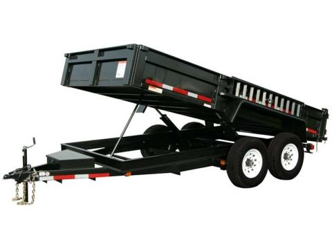 2016 Carry-On Trailers 7X14DUMPLP14K in Kansas City, Kansas