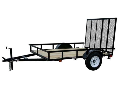 2016 Carry-On Trailers 6X8GW13 in Kansas City, Kansas
