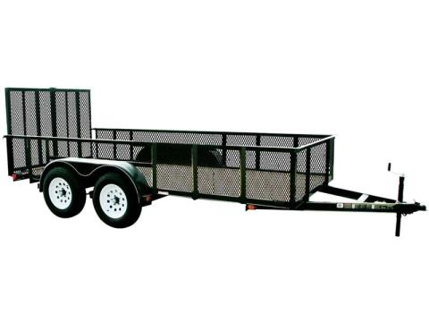 2016 Carry-On Trailers 7X12GWHS1BRK in Kansas City, Kansas