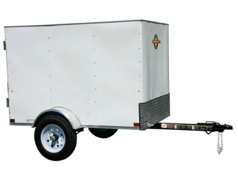 2017 Carry-On Trailers 4X6CG in Saint Johnsbury, Vermont