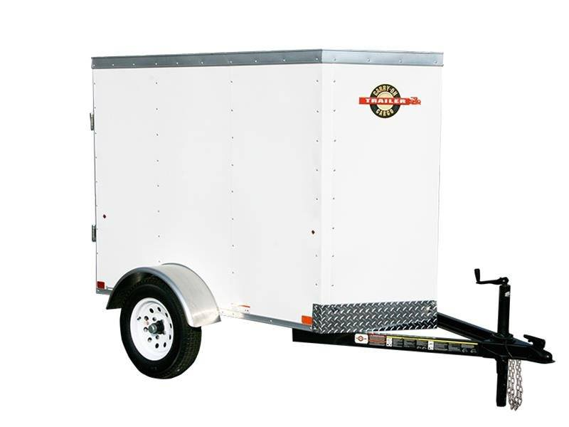 2017 Carry-On Trailers 4X6CGVEC-13 in Paso Robles, California