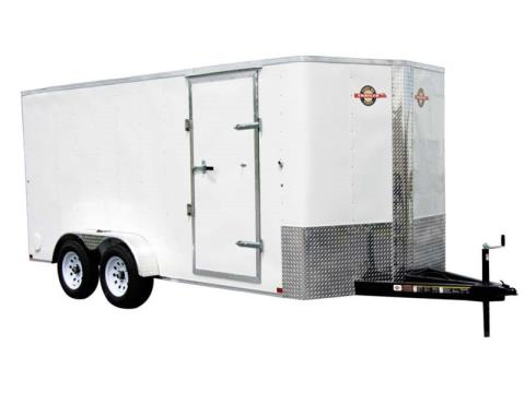 2017 Carry-On Trailers 7X16CGRBN in Kansas City, Kansas