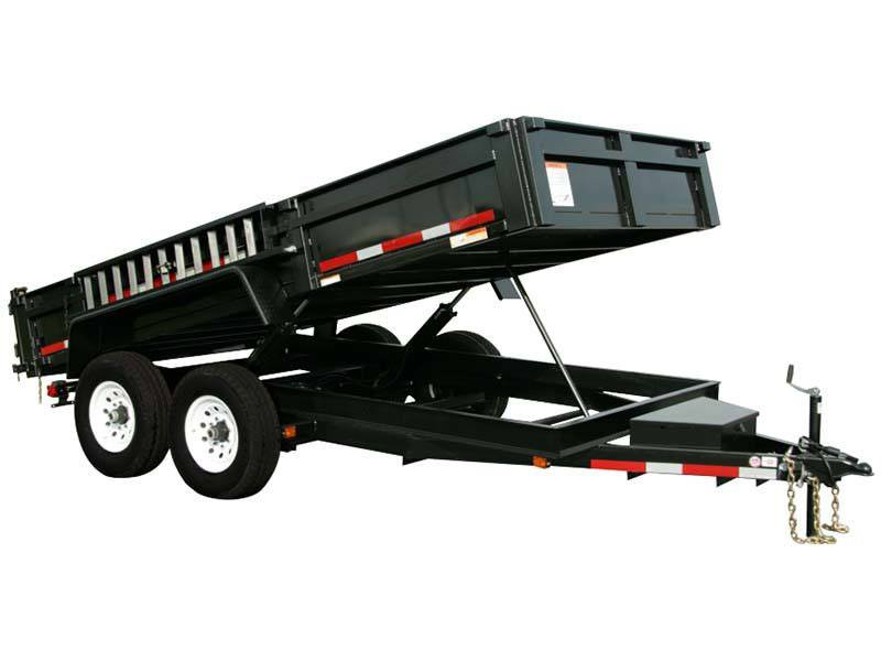 2017 Carry-On Trailers 7X12DUMPLP12K in Kansas City, Kansas