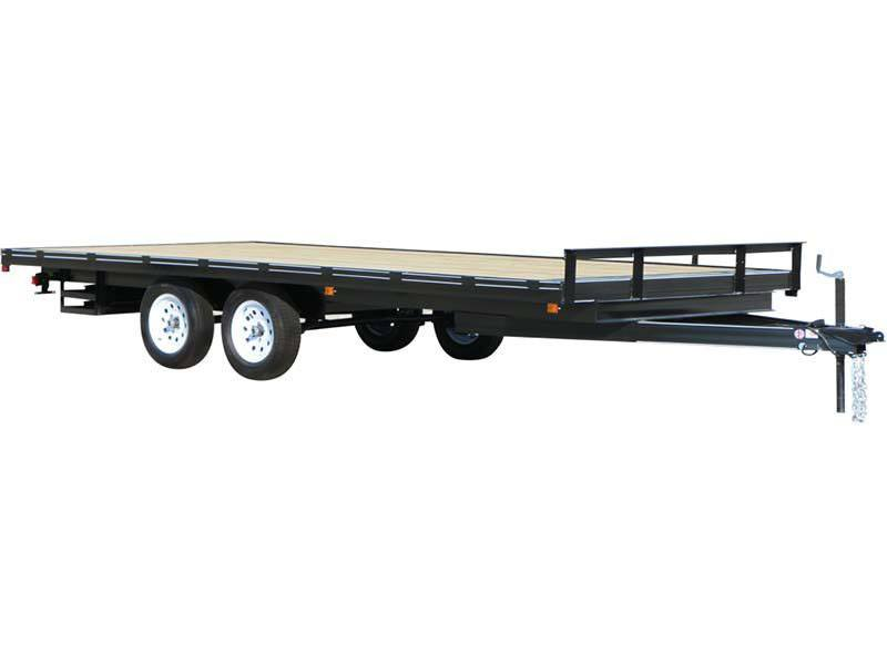 2017 Carry-On Trailers 8.5X18DO7K in Saint Johnsbury, Vermont