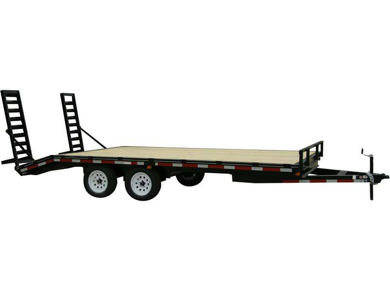 2017 Carry-On Trailers 8.5X20DODT12K in Thornville, Ohio