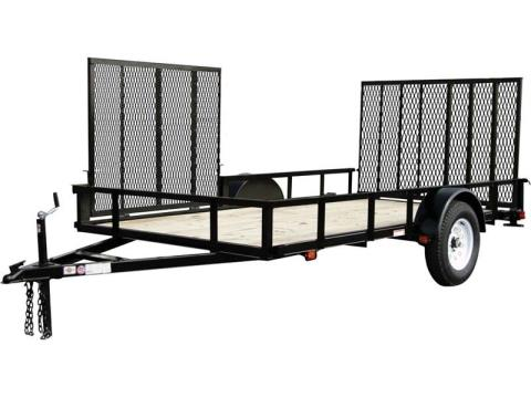 2017 Carry-On Trailers 6X12GWATV in Saint Johnsbury, Vermont