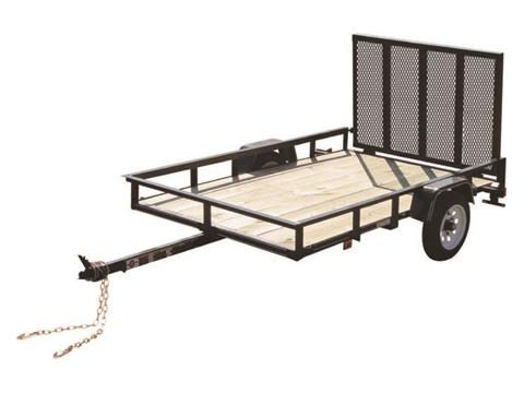 2017 Carry-On Trailers 4X6GW2K in Saint Johnsbury, Vermont