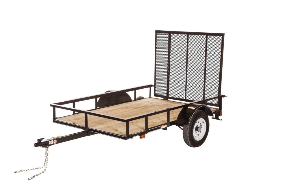 2017 Carry-On Trailers 5X10GW2K in Saint Johnsbury, Vermont