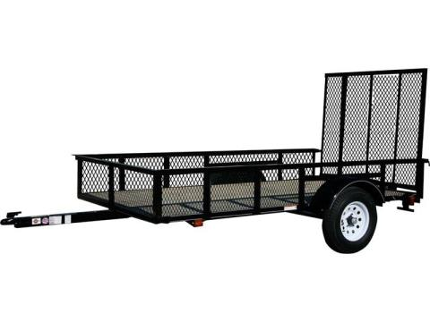 2017 Carry-On Trailers 5X8GWHS2K in Saint Johnsbury, Vermont