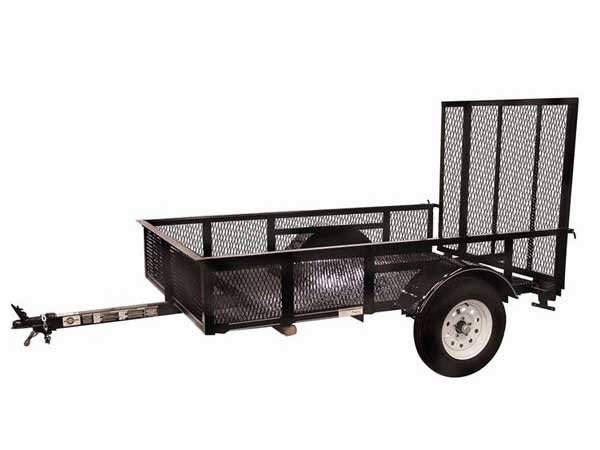 2017 Carry-On Trailers 5X8SPHS in Saint Johnsbury, Vermont