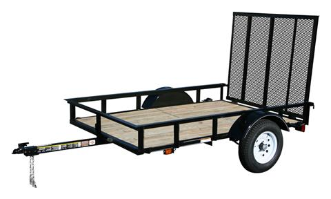 2017 Carry-On Trailers 5X8SPW in Saint Johnsbury, Vermont