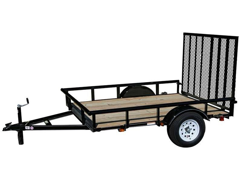 2017 Carry-On Trailers 6X8GW2KPT in Saint Johnsbury, Vermont
