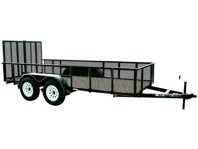 2017 Carry-On Trailers 7X12GWHS2BRK in Saint Johnsbury, Vermont
