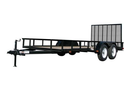 2017 Carry-On Trailers 7X20GW1BRK in Saint Johnsbury, Vermont