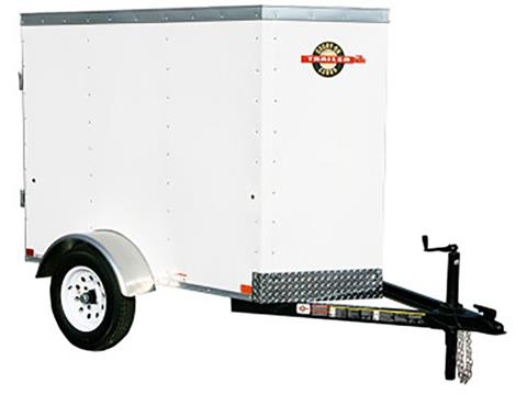 2018 Carry-On Trailers 4X6CGVEC-13 in Marietta, Ohio