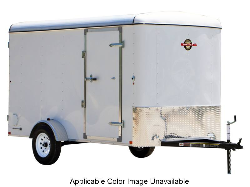 2018 Carry-On Trailers 6X12CGR-Silver in Romney, West Virginia