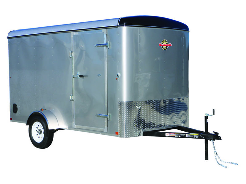 2018 Carry-On Trailers 6X12CGR-Silver in Merced, California